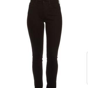 Levi's high waisted jeans